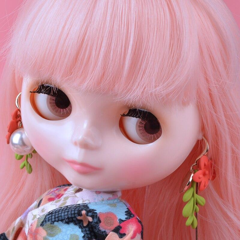 Néo Blyth poupée NBL personnalisé visage brillant, 1/6 BJD boule articulée poupée Ob24 Blyth pour fille, jouets pour enfants