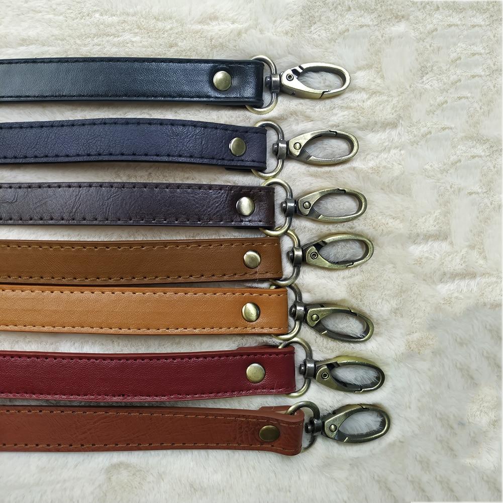 Fashion Women Adjustable Handbag DIY Handle PU Leather Strap Belts Buckle Shoulder Belt For Ladies Bag Accessories Long Belts