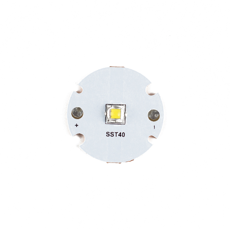 DIY 5000 K-6500 K SST40-W LED Emitter สำหรับ Astrolux FT03 ไฟฉาย LED MCPCB อุปกรณ์เสริมไฟฉายชิปแบบพกพา