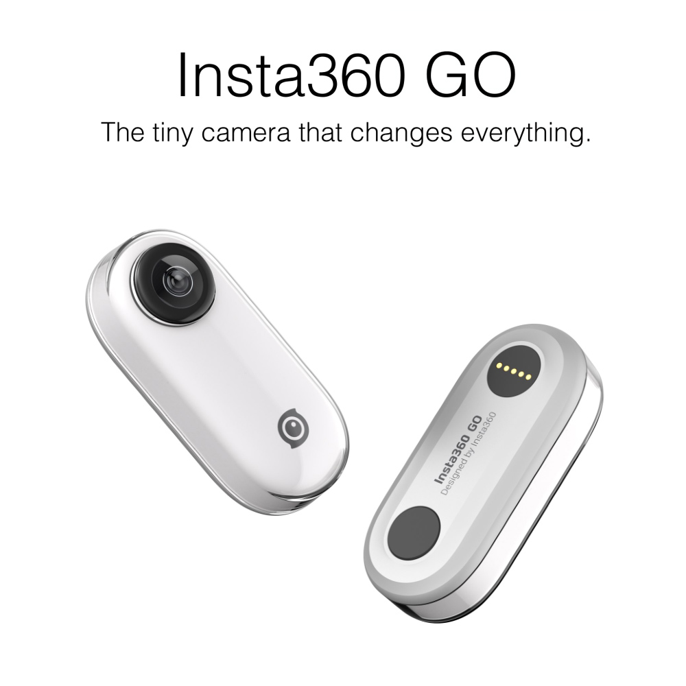 Insta360 GO new action camera AI auto editing hands-free smallest stabilized camera 1080P Video Panoramic Sports Action Camera