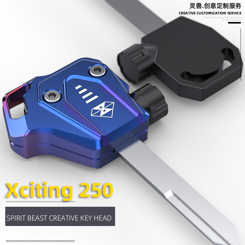 Spirit Beast Motorcycle Key Shell Case Cover For Kymco XCITING 250 XCITING250