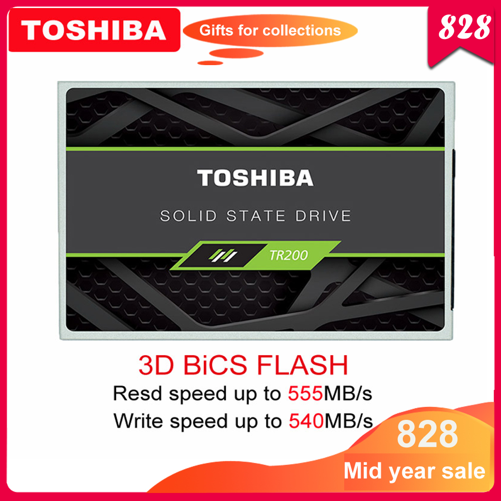 TOSHIBA Solid-State-Drive Internal-Disk Flash-Tlc Laptop 240GB Ssd 960gb Sata-Iii Bics