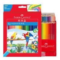 Aquarell Farbige Bleistifte lapis Wasser Löslich Farbe Bleistift Schule Kunst Liefert lapices de colores auf
