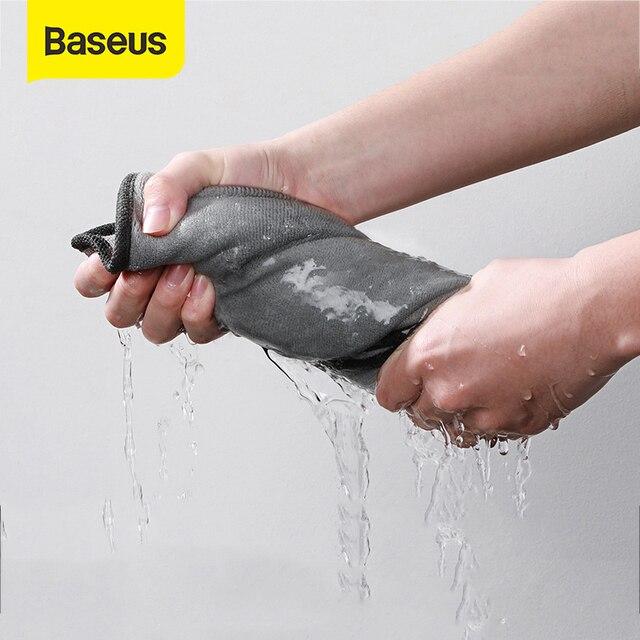 Baseus Car Wash Microfiber Towel Hair Fast Dryer Towel Car Cleaning Drying Cloth Car Care Cloth Car Wash Absorbent Towel