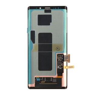 Image 3 - ORIGINALE 6.4 AMOLED Display con cornice per il SAMSUNG Galaxy Note 9 Note9 N960D N960F A CRISTALLI LIQUIDI di Tocco Digitale Dello Schermo di Ricambio parte