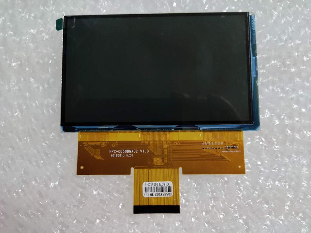 FPC-C058BWX02 V1.0  ET058Z8B-NE0 New 5.8 inch LCD screen RX058B-01 For artlii Energon 1 Projection instrument LCD screen