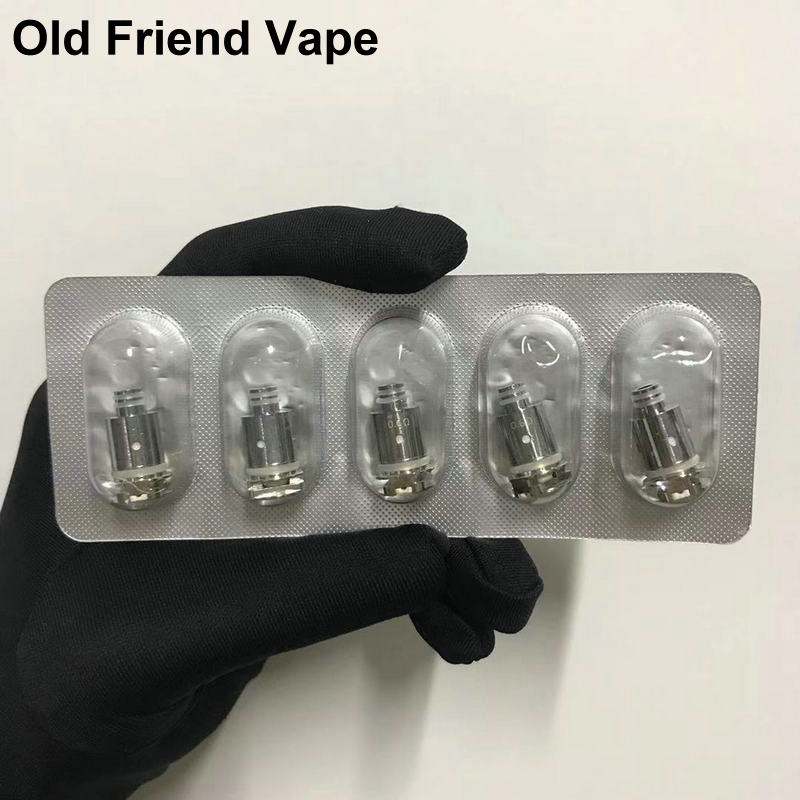 5PCs/lot Coil 0.6ohm Mesh Coil 1.4ohm Ceramic Coil 1.4ohm Regular DC0.6ohm MTL Coil 0.8ohm Pod Cores Head For E Cigarette Vape