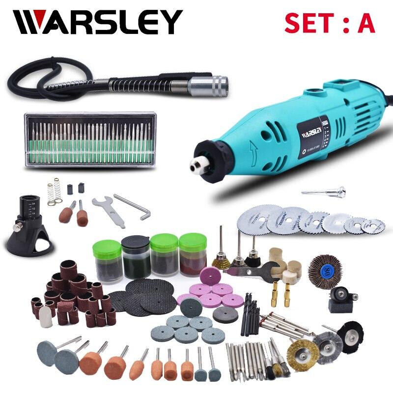 Mini broca elétrica dremel 180w, gravador diy, ferramenta rotativa, mini moinho, moagem, gravação, caneta ferramentas de moedor