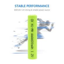 YCDC – lot de 4 Batteries rechargeables pour stylo Surface, 1.2V NiMH Ni-MH AAAA 600mAh AM6 LR61 MN2500 25A-U2 AM6 E96BP2