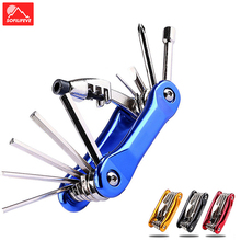 цена на 10 In 1 Multi Bicycle Repair Tools MTB BMX Road Bike Tool Kit Set Hex Spoke Wrench Screwdriver Bicycle Tools Cycling Accessories