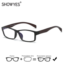 Ultralight Prescription Glasses Men TR90 Full Frame Comforta