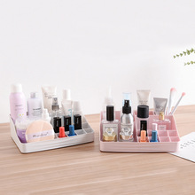 Plastic Makeup Organizer for Skin Care Products Table Nail P