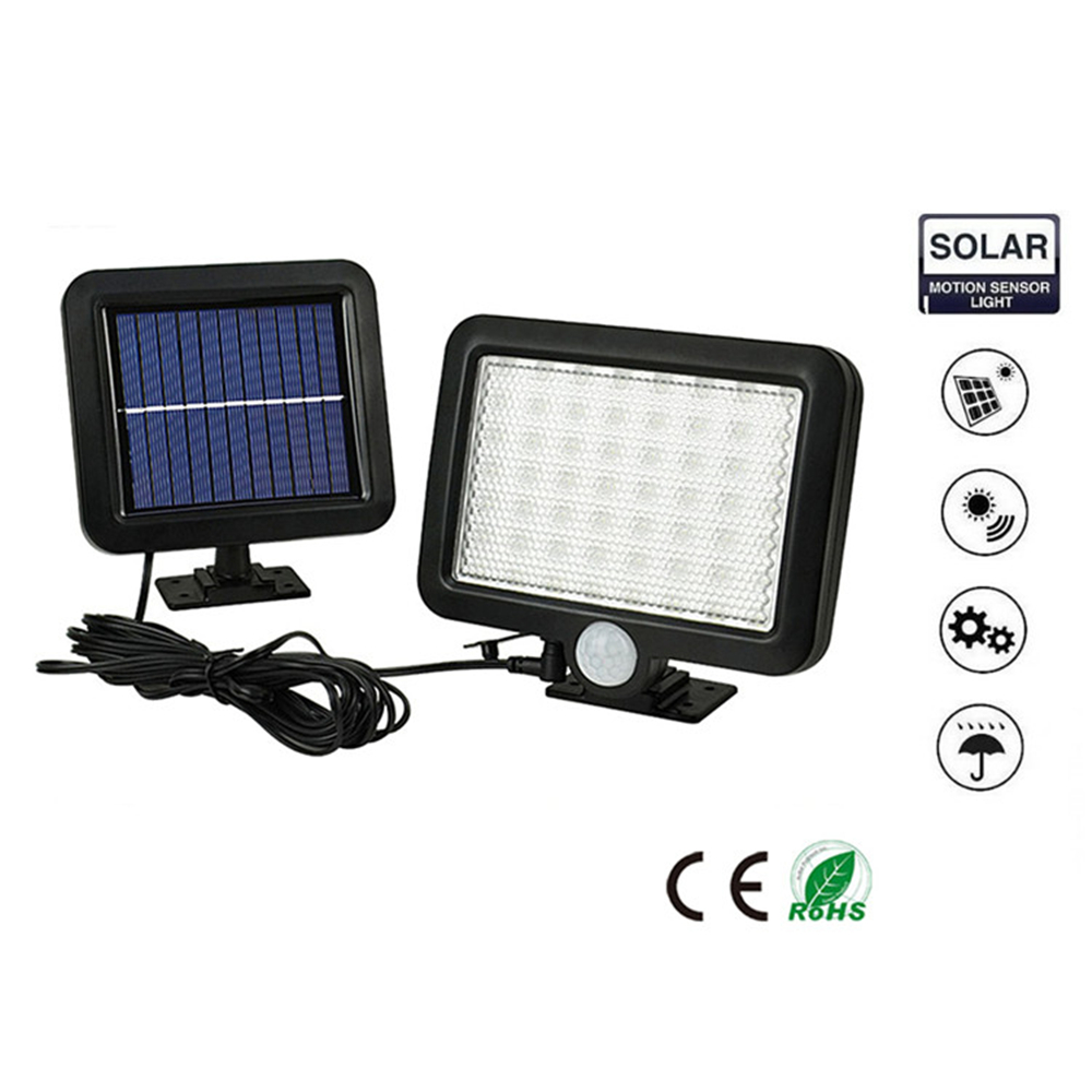 56/30 LED Solar Light Solar PIR Motion Sensor Lamp IP65 Waterproof Outdoor Garden Yard Lamp Emergency Security Light Solar Lamp
