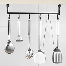 Kitchen Hanging Hook Organizer Storage Rack Cupboard Shelf Closet Clothes Glass Mug Metal Organizer Shelf Hanger Storage(China)