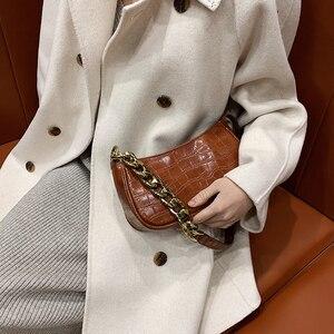 2021 модная универсальная маленькая квадратная сумка, широкая женская сумка через плечо, повседневная однотонная женская сумка-мессенджер, ж...