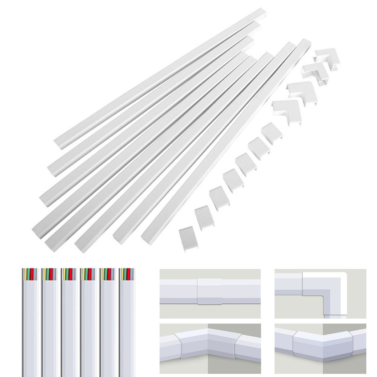 Wire Duct Cable Management Wiring Duct Wire Channel Pvc Wire