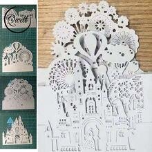 Qwell развлекательный парк замок металлические режущие штампы