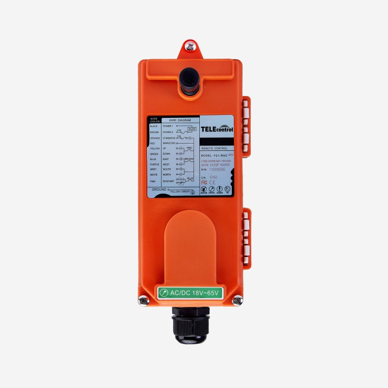Image 5 - TELEcontrol UTING F21 E1B Industrial  radio remote control for crane hoist-in Remote Controls from Consumer Electronics