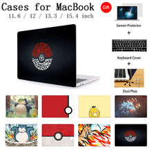 New Laptop Cover Case For MacBook Retina Pro 13.3 15.4 Notebook Sleeve For Apple MacBook Air 11 12 15  Inch Torba Keyboard Cover цена и фото