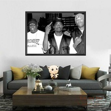 Modern Canvas Posters Painting Wall-Picture Biggie Notorious Tupac Shakur 2pac Home-Decoration