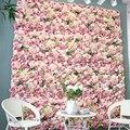 Шелковый цветок розы настенные Искусственные цветы «сделай сам», Свадебный декор стен фотографии фонов парикмахерский салон фон 40*60 см