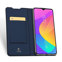 For Xiaomi Mi 9 Lite / CC9 DUX DUCIS Skin Pro Series Flip Cover Luxury Leather Wallet Case Full Good Protection Steady Stand