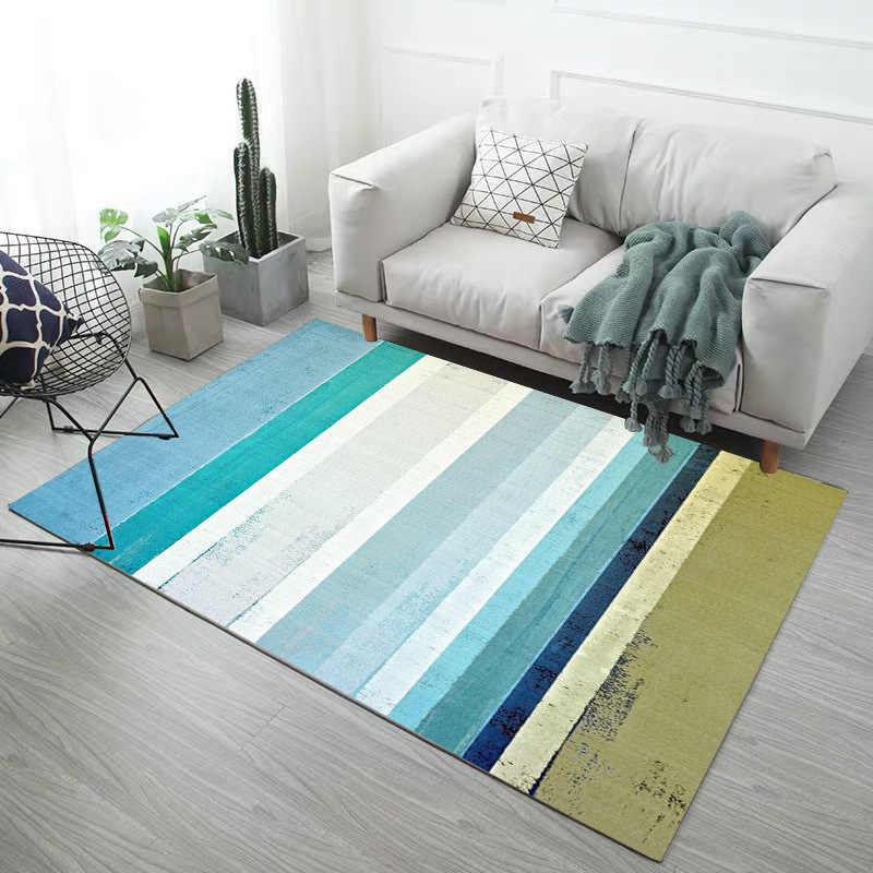 Летние ковры с цветочным принтом, современные, для гостиной, дома, скандинавские, спальни, прикроватные одеяла, мягкие, для учебы, для пола