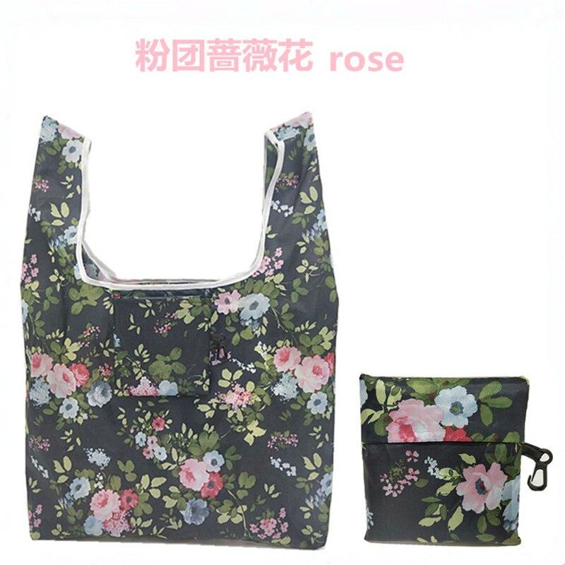 1 Piece Shoulder Shopper Bags 18 Styles Tumblr Graphic Ladies Shopping Bag Handbags Cloth Canvas Tote Bags Women Eco Reusable