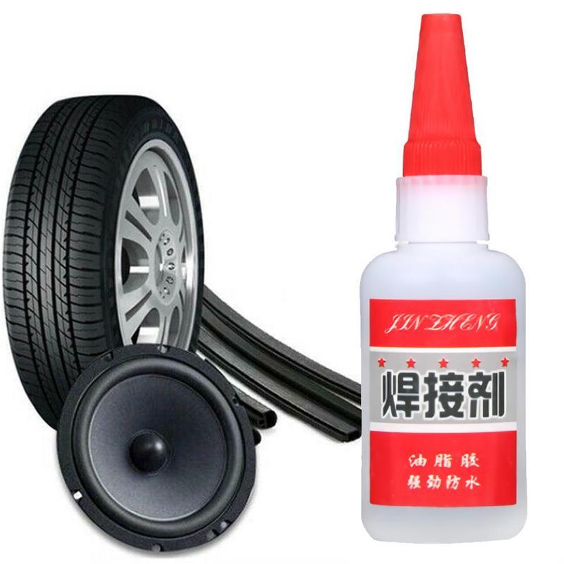1pcs Mighty Tire Repair Glue Car Bicycle Motorcycle Tire Repair Glue Car Tire Sole Repair Instant Glue Multi-purpose Super Glue