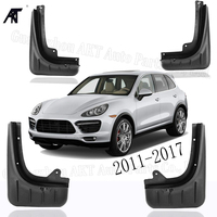 Front Rear Car Mudguards  FOR 2011-2017 PORSCHE CAYENNE  Mudflap Fender Mud Flaps Guard Splash