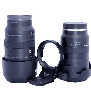 Image 2 - iShoot Lens Collar for Tamron 28 75mm F2.8 Di III RXD and Tamron 17 28mm F2.8 70 180mm Tripod Mount Ring Lens Adapter IS S135FE