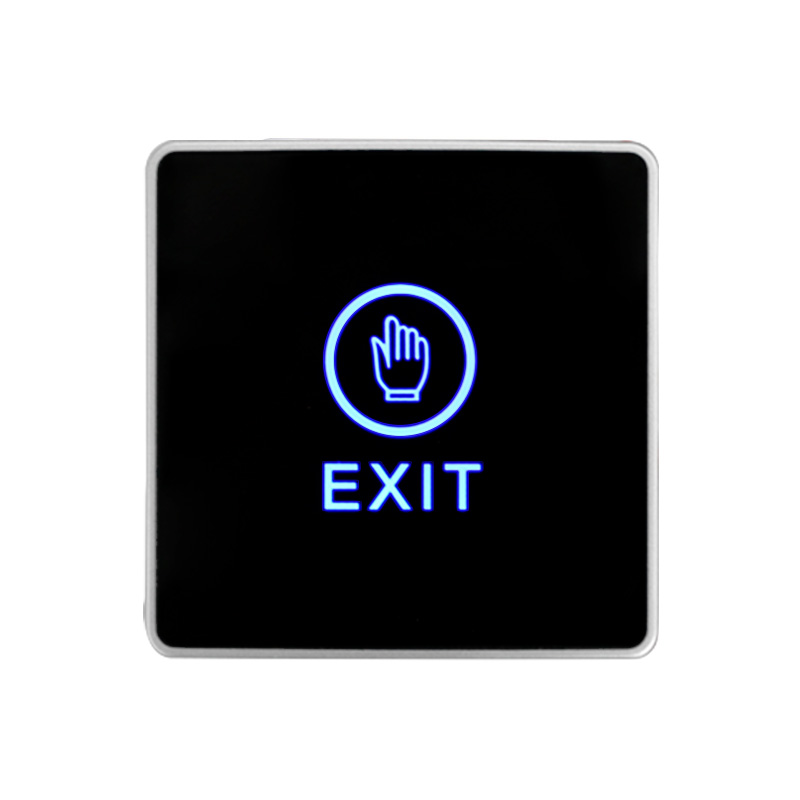 Door Exit Button Touch Release Push Switch Infrared Contactless Bule Backlight for access control systemc Electronic Door Lock (7)