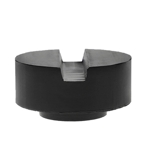 Image 3 - 2020 New Black Rubber Slotted Floor Jack Pad Frame Rail Adapter For Pinch Weld Side Pad