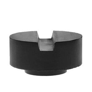 Image 3 - 2020 yeni siyah kauçuk oluklu zemin Jack Pad çerçeve ray adaptörü tutam kaynak yan ped