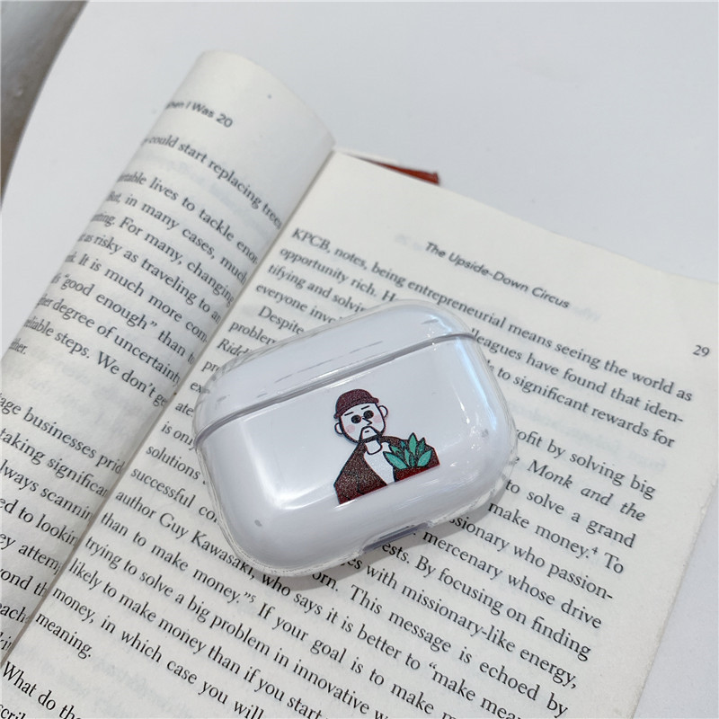 Funny Nostrils Pattern Case for AirPods Pro 16