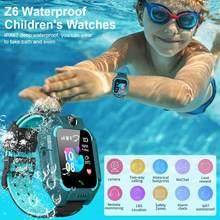 Montre connectée Z6 pour garçons et filles, étanche, avec suivi GPS, appel, carte SIM SOS 2G, caméra, cadeaux de noël, montre intelligente pour enfant