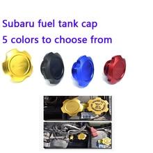 1 шт. крышка топливного бака из алюминиевого сплава, крышка топливного бака для гоночного двигателя, крышка топливного бака для Subaru Honda