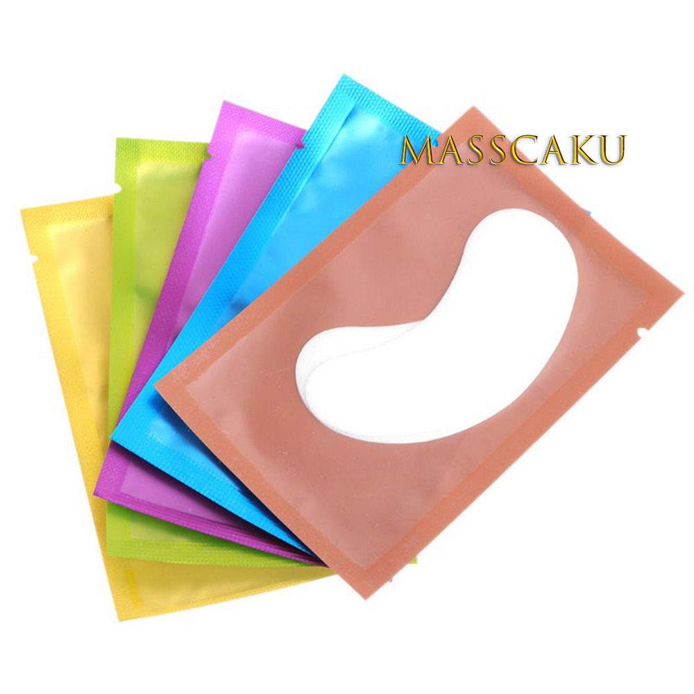 New Korea Lint Free Patches Eyelash Under Eye Pads Eyelash Pad Gel Patch Eye Pa Lash Eyelash Extension Patches Eye Make Up Tools