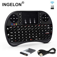 2.4GHz Mini Kablosuz Klavye QWERTY Siyah Taşınabilir i8 BL ile 5C Pil Tabletler Windows TV Xbox PS3 Ahududu pi Dropship(China)