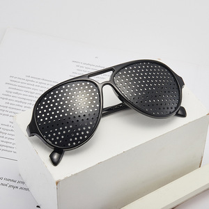 Fashion Relieve Pinhole Glasse