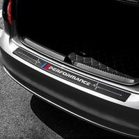 Car Trunk Bumper Guard Pad SUV Guard Protector M Performance for BMW E46 E90 E36 E53 F20 F30 F10 E60 X5 X1 X6 M3 M5 Accessories|Styling Mouldings|   -