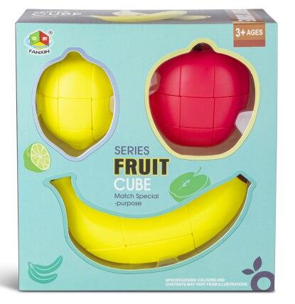New Original FanXin Fruit Magic Cube Apple Banana Lemon Educational Toys For Children Brain Teaser Brithday Christmas Gift
