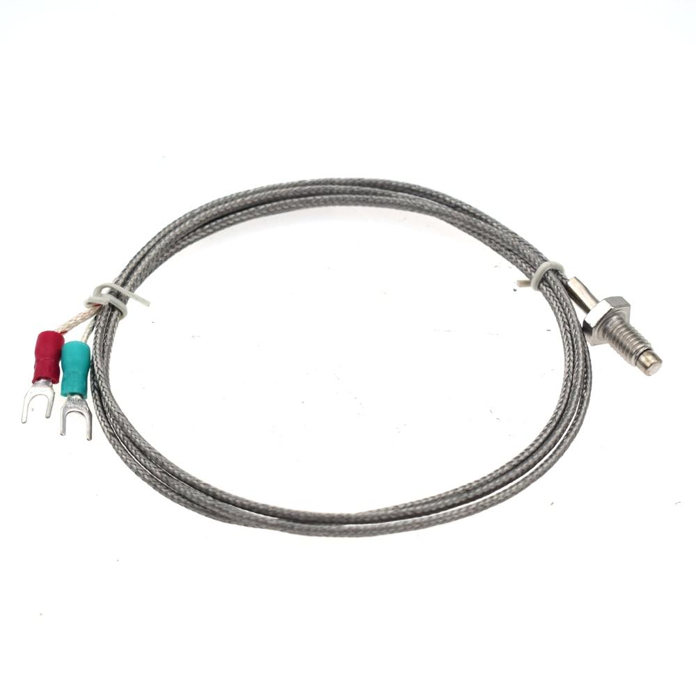 2M M6 K-Type 0-600℃ Screw Thermocouple Temperature Controller Sensor Probe