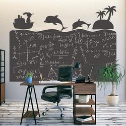 Съемный 120x85 см доска Декор стикер стены для детей обучения письма граффити обои в виде классной доски для школы Дома Офиса