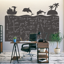 Removable 120x85cm Blackboard Decor Wall Sticker for Kids Learning Writing Graffiti ChalkBoard WallPaper School Home Office