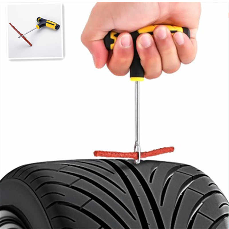 Car tire repair kit car vacuum tire repair tool 6 piece set for Volkswagen Skoda Octavia Fabia Rapid Superb Yeti Roomster