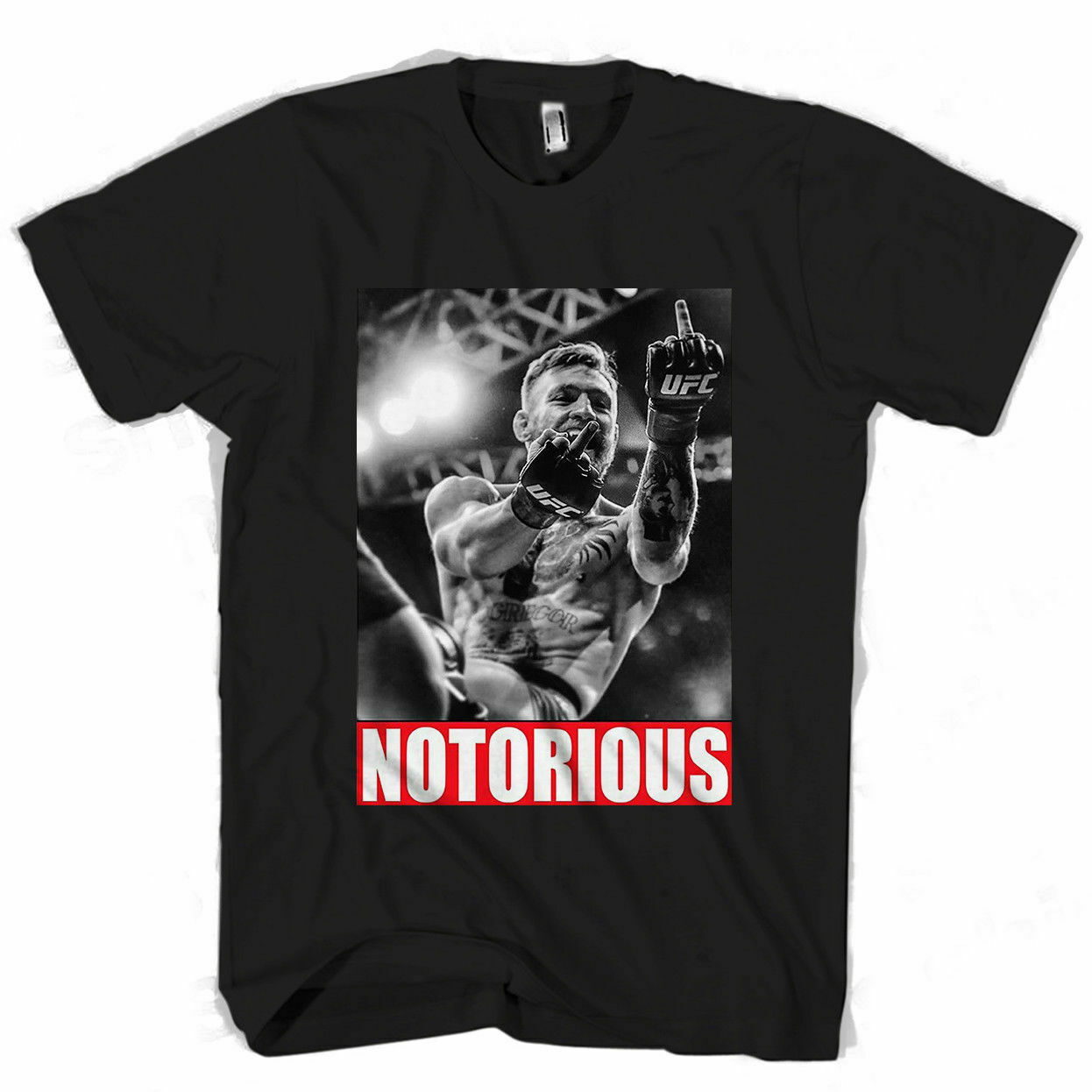 Conor Mcgregor Notorious Mayweather Fight Mens Womens T Shirt