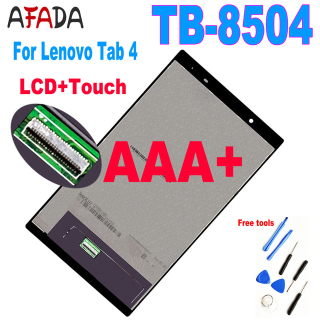 """Afa LCD Display Replacement Parts 8"""" For Lenovo Tab 4 8504 TB-8504N Tablet PC LCD Display Touch Screen Assembly 8504F 8504X"""