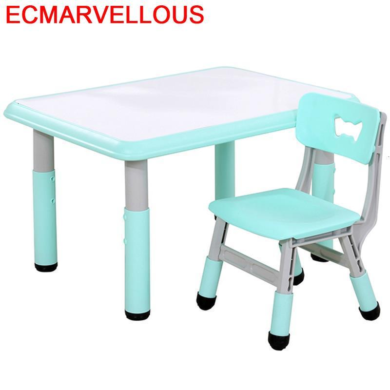 Avec Chaise Toddler Tavolo Per Bambini De Estudio Kids Kindergarten Bureau Enfant Mesa Infantil Study Kinder Children Table