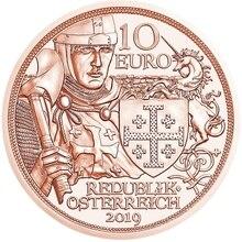 Austria 2019 Knight Story Series Adventure 10 Euro Commemorative Coin Genuine euro Collection real original coins